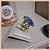 Anel Pedra Natural Quartzo Azul Banho Ouro 18K - Semijoia de Luxo - Imagem 3