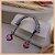 Ear Jacket Com Pedra Kunzita - Lapidação Especial e Micro Cravação Zircônia Cristal - Banho Ródio Negro - Semijoia de Luxo - Imagem 3