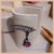 Ear Jacket Com Pedra Kunzita - Lapidação Especial e Micro Cravação Zircônia Cristal - Banho Ródio Negro - Semijoia de Luxo - Imagem 4