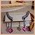 Ear Jacket Com Pedra Kunzita - Lapidação Especial e Micro Cravação Zircônia Cristal - Banho Ródio Negro - Semijoia de Luxo - Imagem 1