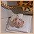 Anel Ramo de Folhas Cravejadas com Zircônia Cristal - Banho Ouro 18k - Semijoia de Luxo - Imagem 3