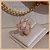 Anel Ramo de Folhas Cravejadas com Zircônia Cristal - Banho Ouro 18k - Semijoia de Luxo - Imagem 2