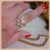 Anel Ramo de Folhas Cravejadas com Zircônia Cristal - Banho Ouro 18k - Semijoia de Luxo - Imagem 9