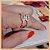 Anel Duplo Infinito em Micro Zircônia Cristal - Banho Ouro Rosé 18K - Semijoia de Luxo - Imagem 8