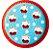 Prato descartável modelo Cupcakes - Imagem 1