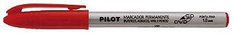 Marcador Pilot 1.0 Cd/Dvd Vermelho - Imagem 1