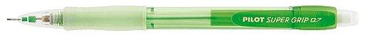 Lapiseira Pilot 0.7mm Super Grip Neon Verde - Imagem 1