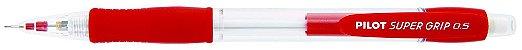 Lapiseira Pilot 0.5mm Super Grip Vermelho - Imagem 1