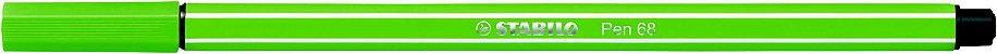 Caneta Stabilo 1.0 Pen 68/33 Maçã Verde - Imagem 1