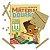 Material Dourado em EVA 111 Peças + 1 Livro - Todo Livro - Imagem 2