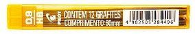 Grafite Pilot 0.9mm HB com 12 unidades - Imagem 1