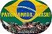 Azulejo Pátria Amada Brasil  - Imagem 2