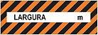 Adesivo ou Placa Largura Excedente - Imagem 1