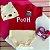 Kit Body Bebê Ursinho Pooh com Touquinha e Tênis Vermelho - Imagem 1