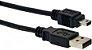Cabo USB Mini USB 1,5 Metros - Imagem 1