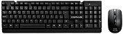 Kit Teclado e Mouse Sem Fio C3 Plus K-W11 - Imagem 2