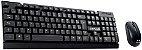 Kit Teclado e Mouse Sem Fio C3 Plus K-W11 - Imagem 1