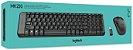 Kit Teclado e Mouse Sem Fio Logitech MK220 - Imagem 1