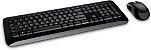 Kit Teclado e Mouse Sem Fio Microsoft 850 - Imagem 1