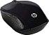 Mouse sem fio HP Souris Sans Fil 200, Conexão USB e design ambidestro - Preto - Imagem 3