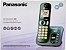 Telefone sem Fio Panasonic Kxtgc220LB, Secretária Eletrônica Digital - Preto - Imagem 4