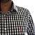 Camisa Slim Fit Mini Xadrez Preto e Branco - Imagem 2