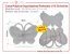 Caixa Plastica Organizadora - Formato de Borboleta c/ 13 Divisórias - Imagem 1