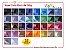 Papel Color Plus A4 180g - Pct c/20 fls - Imagem 1