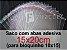 100 Saco Plastico 15x20 com aba adesiva (bloquinho 10x15) - Imagem 1