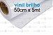Vinil brilho 50cm x 5 metros - Imagem 1