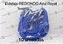 10 Elástico REDONDO azul royal com terminal para agenda (medida 23cm) - Imagem 1