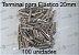 Terminal para Elastico 20mm - 100 UNIDADES - Imagem 1