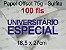 Miolo papel offset - tamanho UNIVERSITARIO ESPECIAL 18,5x27 - 75g - Imagem 2