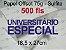 Miolo papel offset - tamanho UNIVERSITARIO ESPECIAL 18,5x27 - 75g - Imagem 3