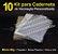 10 Kit Insumos Caderneta 90g - Imagem 1