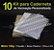 10 Kit Insumos Caderneta 120g - Imagem 1