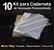 10 Kit Insumos Caderneta 180g - Imagem 1