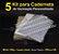 05 Kit Insumos Caderneta 120g (papelao com abas e wire-o 5/8) - Imagem 1