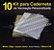 10 Kit Insumos Caderneta 120g (papelao com abas e wire-o 5/8) - Imagem 1