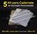 05 Kit Insumos Caderneta 90g (papelao com abas e wire-o 5/8) - Imagem 1