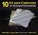 10 Kit Insumos Caderneta 90g (papelao com abas e wire-o 5/8) - Imagem 1
