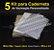 05 Kit Insumos Caderneta 90g (papelao com abas e wire-o 3/4) - Imagem 1
