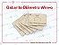 Gabarito Diametro Wire-o - MDF para identificação de wire-o 2x1 - Imagem 1