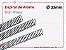 Espiral de Arame 23mm - Preto - 10 unidades - Imagem 1