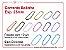 01 pct c/ 10un - Corrente bolinha - Colorida - Imagem 1
