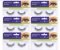 6 Pares Cílios Postiços Natural Bmr 1480 - Klass Vough - Imagem 1