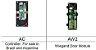Controladora HID AC Series (1 AC + 1 AW2) - kit composto por 1 controladora + 1 módulo Wiegand - Imagem 2