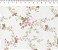 Tecido 100% algodão - Estampa  Floral Sara - 0,50 metro - Imagem 1