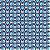 Tecido 100% algodão - Estampa Olho Grego - 0,50 metro - Imagem 1