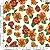 Tecido 100% algodão - Estampa Girasol Fundo Branco - 0,50 metro - Imagem 1